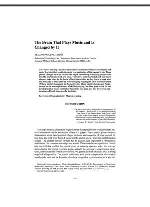 The Brain and Music Article