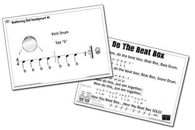 Printslides for Bucket Beats