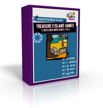 instant print music lessons module 1 - treasure island games