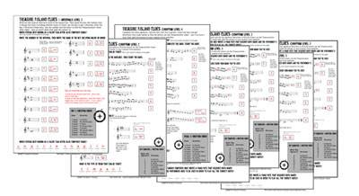 completed versions of the worksheets