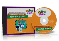 Printable Music Lesson Plans CD