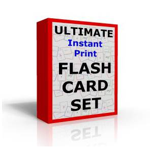 the ultimate flashcard set