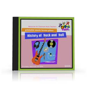 Music Lesson Plans on the history of Rock