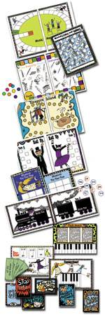 printable music games includes