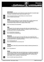 Module Glossary