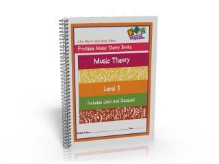 Printable Music Theory books grade one