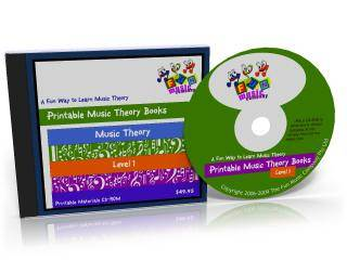 Printable Music Theory Books CDROM
