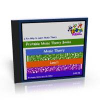 Printable Music Theory Books Level One