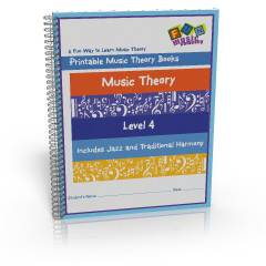 Printable Music Theory Books Level Three
