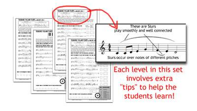 worksheets for melody, tones and semitones